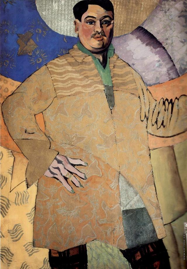 Таким Лентулов предстал на картине в 1915 году.
