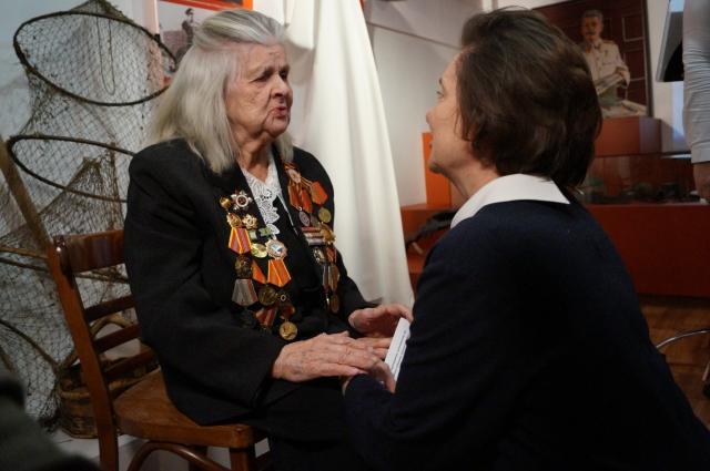 Софья Сергеевна с губернатором Югры Натальей Комаровой