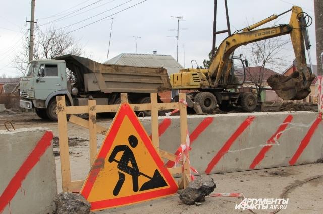 В Таганроге закрыто движение на десятках улиц.