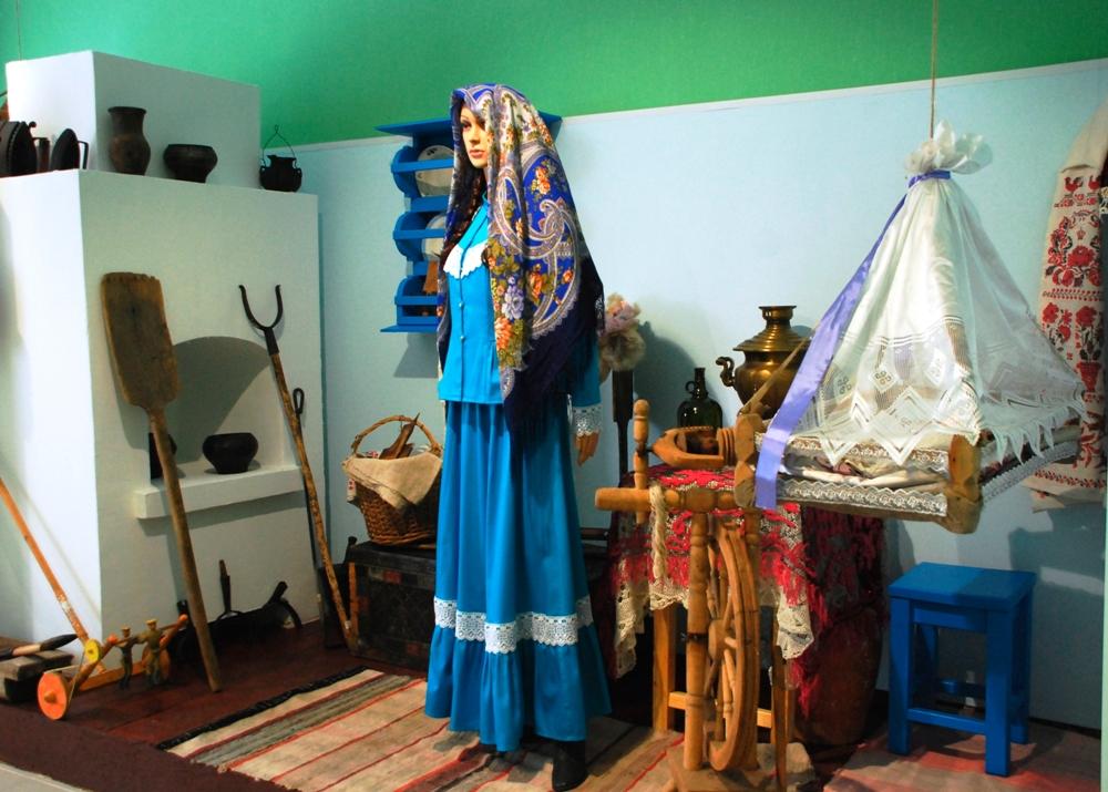 В музее можно увидеть редкие исторические и этнографические экспонаты.