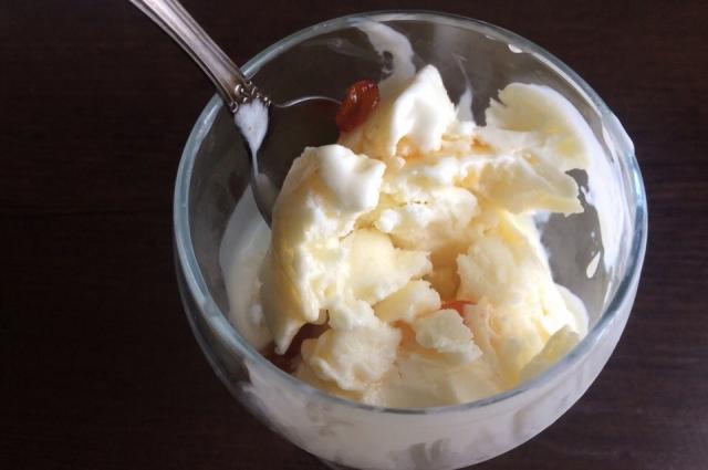 Рецепты мороженого.