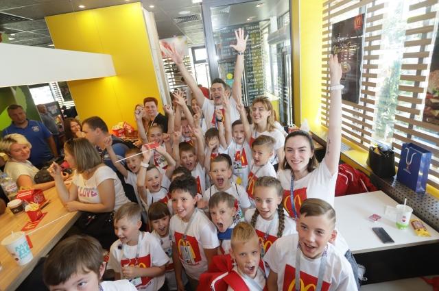 С «Макдоналдс» - весело!
