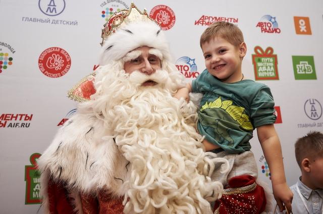 Новогодний волшебник постарается исполнить желание каждого ребенка.