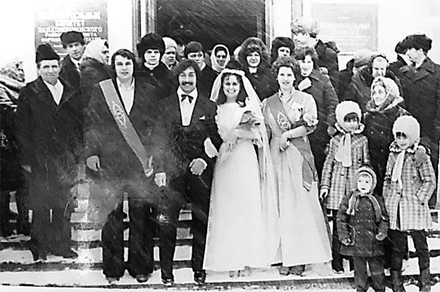 Свадьба. Декабрь 1981 г.