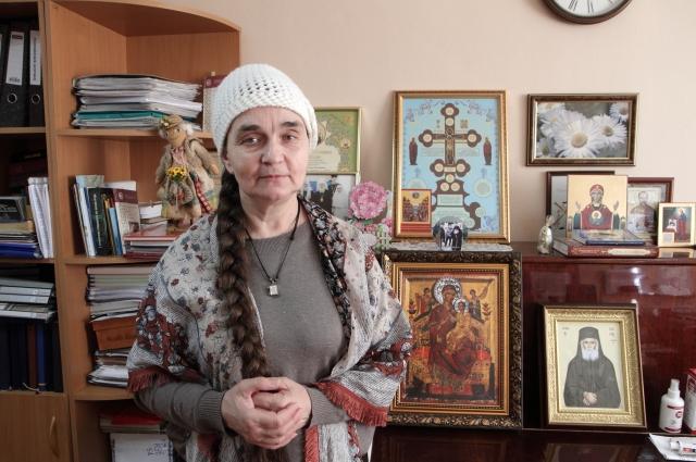 Галина Паршуткина.