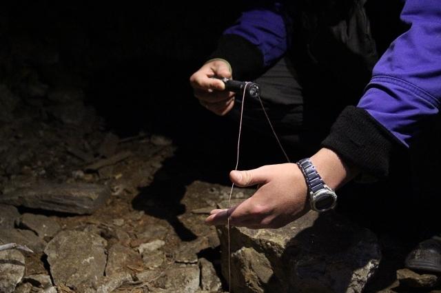 В Сокских штольнях протянута нить, по которой можно найти выход из системы. Но она же может и запутать неопытных посетителей подземелья.