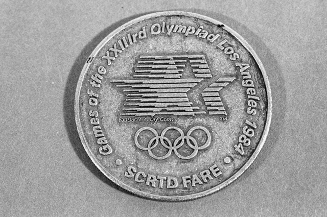 Монеты, приуроченные к Олимпиаде в Лос-Анджелесе