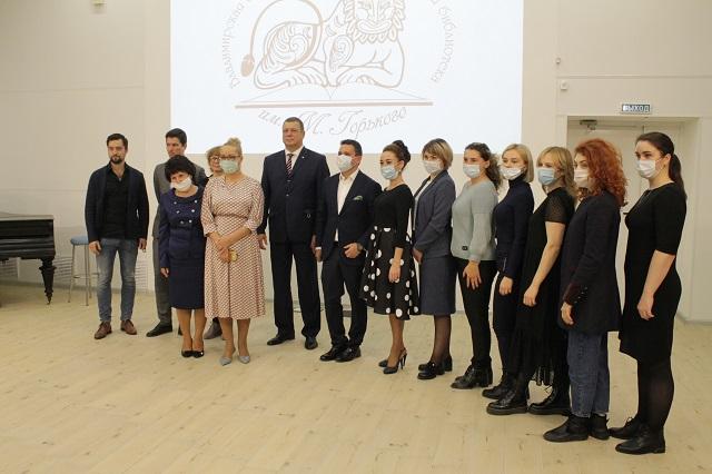 Открытие обновлённого читального зала во Владимирской областной научной библиотеке