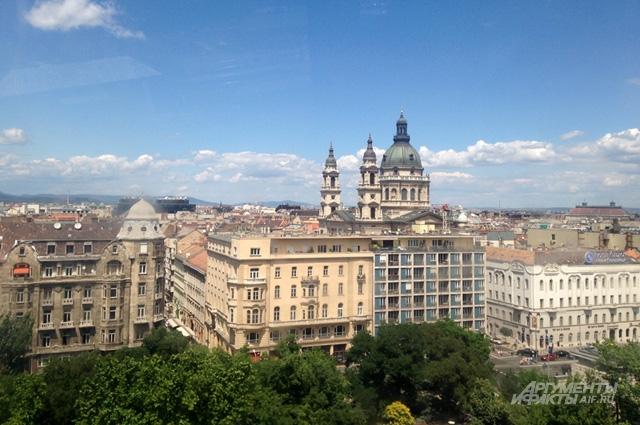 Будапешт с колеса обозрения