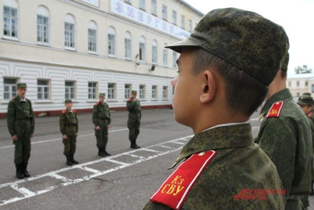 Казанское суворовское училище.