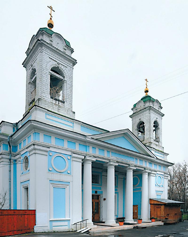 (4) Церковь Св. Духа на Лазаревском кладбище