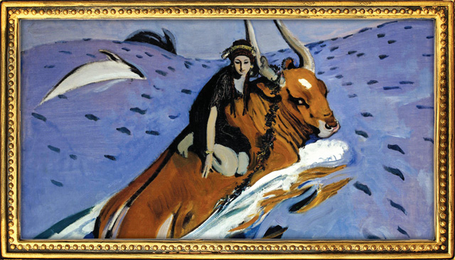 Валентин Серов. «Похищение Европы» 1910 год