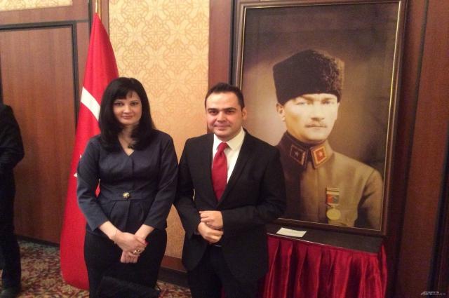 Генеральный консул Республики Турция в Казани господин Турхан Дильмач и госпожа