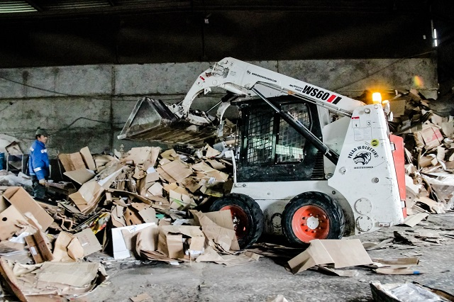 Переработка мусора - шаг к восстановлению биобаланса!