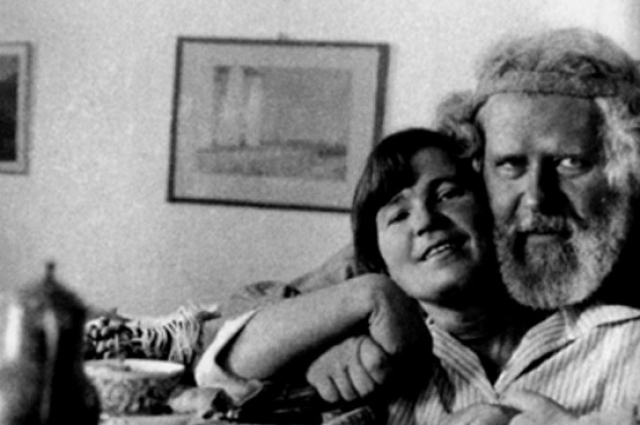Максимилиан Волошин и Мария Степановна.