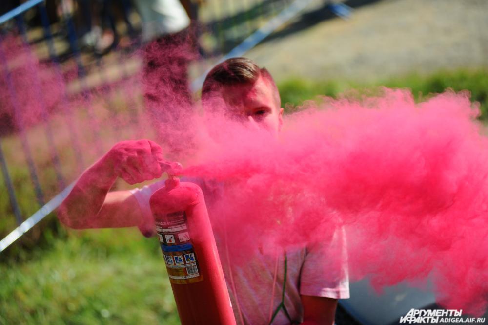 Фестиваль красок, Майкоп