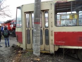 дтп трамвай