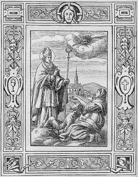 Святой Валентин также исцеляет от эпилепсии.