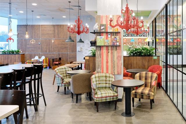 Рестораны сети порадуют уютным интерьером.