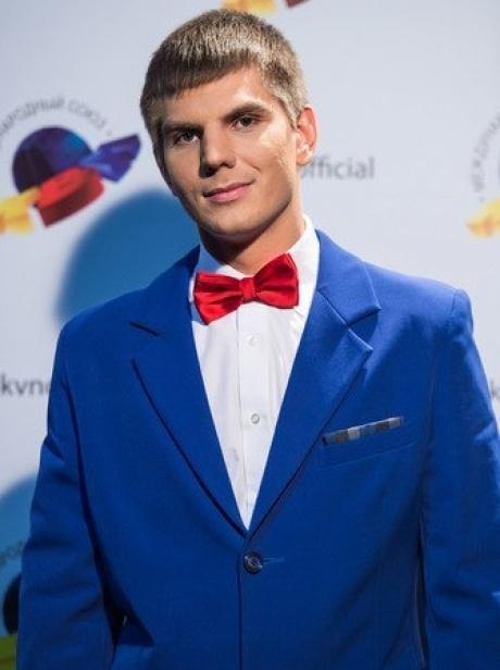 Капитан команды КВН «Плюшки имени Ярослава Мудрого» Андрей Бабич