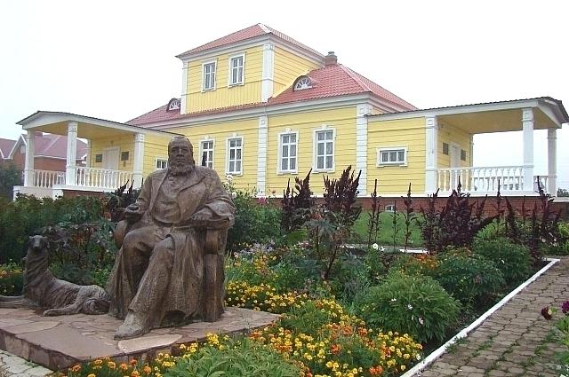 Воссозданный дом семьи Аксаковых в селе Надеждино.