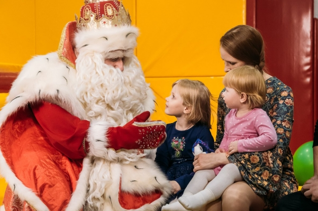 Дед Мороз в Тюмени.
