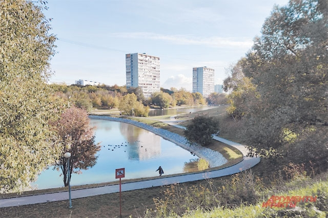 Территорию вокруг Варшавских прудов благоустроили прошлым летом.