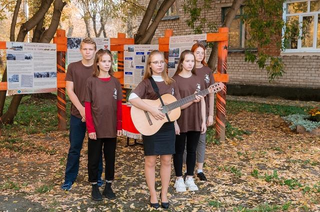 Школьники хранят память о тех, кто сражался за нашу Родину во время войны.