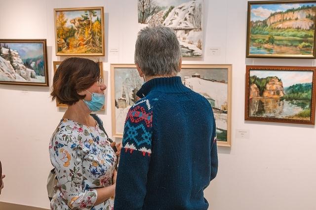 30 художников выезжали на пленэры в разные уголки Пермского края.
