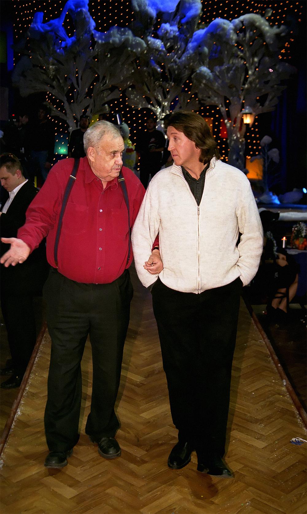Олег Митяев и Эльдар Рязанов.