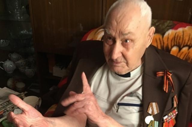 Артиллерист Г. Губин от Москвы дошел до Берлина.