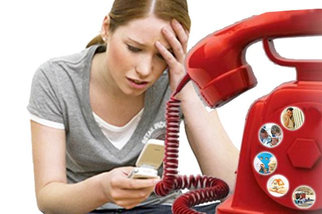 Чаще всего в телефон доверия звонят женщины.