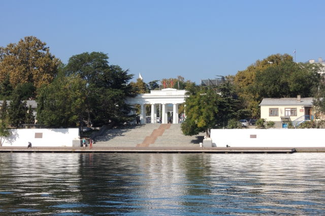 Севастополь, по меркам полуострова, крупный город.