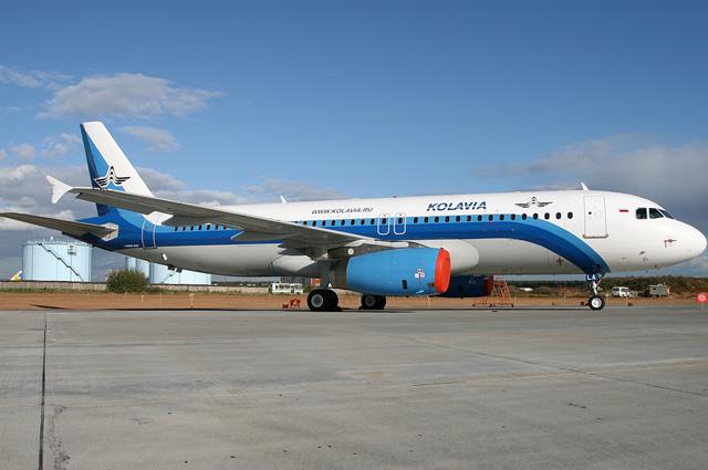 Airbus A320 авиакомпании Metrojet