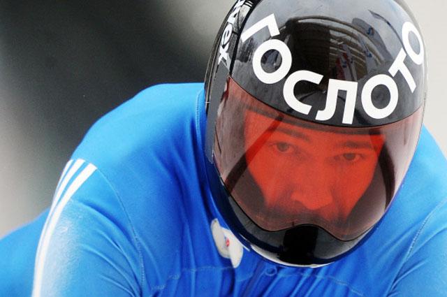Александр Третьяков на тренировке в Сочи
