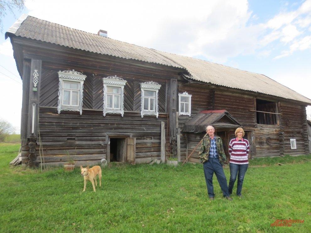 Андрей Трейвиш и Татьяна Нефёдова.