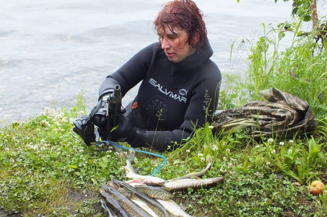 По мнению Елены, лучшая рыбалка - на севере Приангарья.