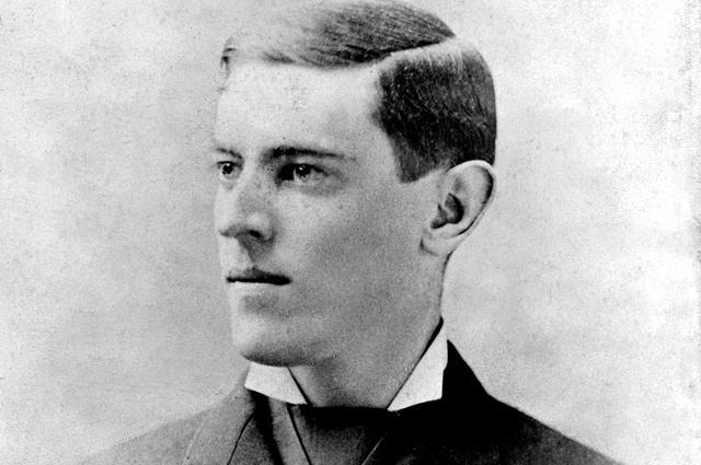 Вудро Вильсон около 1880 года.