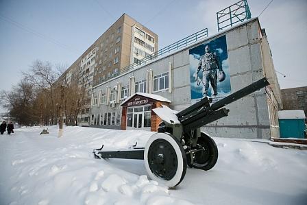 Десантный шлем Александра Прохоренко передан в музей ветеранов локальных войн в Оренбурге