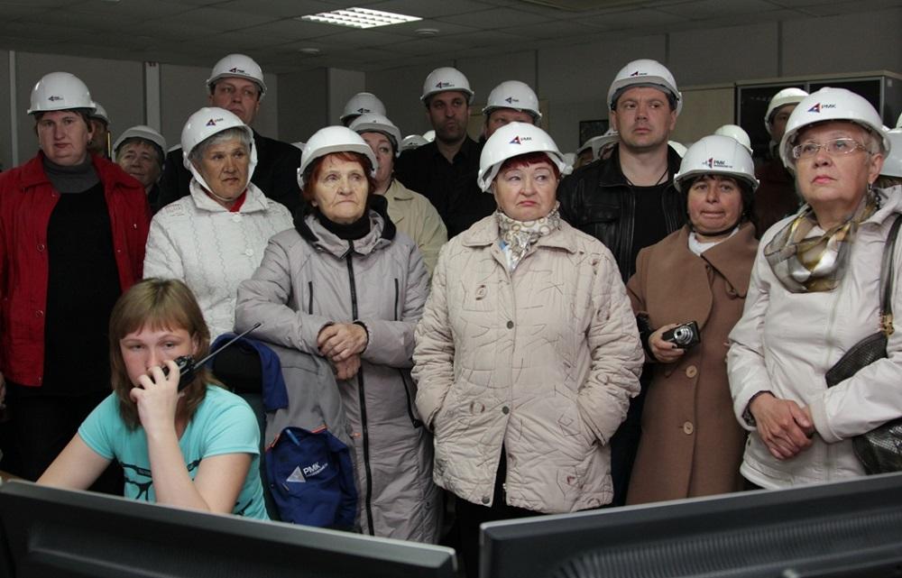 Коркинская делегация увидела всю технологическую цепочку добычи и обогащения медной руды.