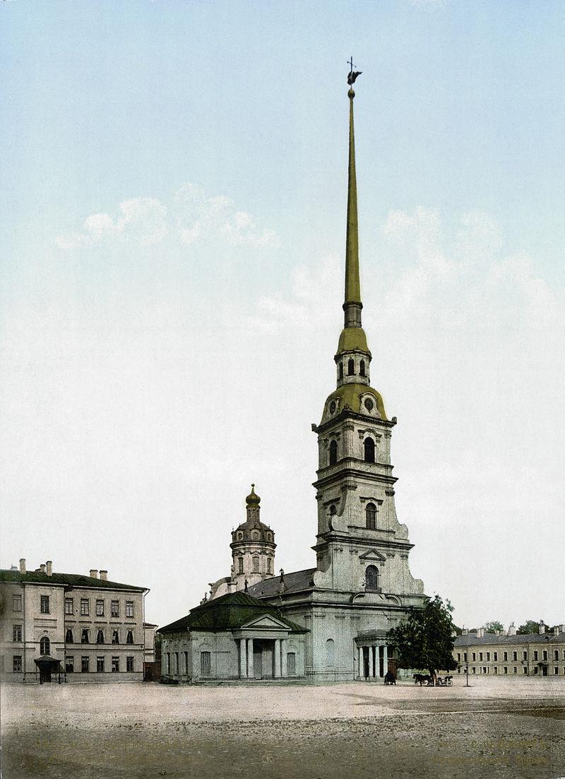Петропавловский собор в конце XIX века.