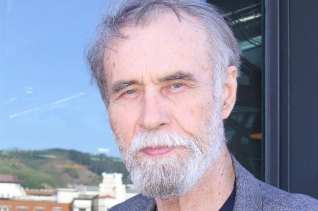 Владимир Маканин в Бильбао, во время IV Литературного фестиваля Гутун Зурия.
