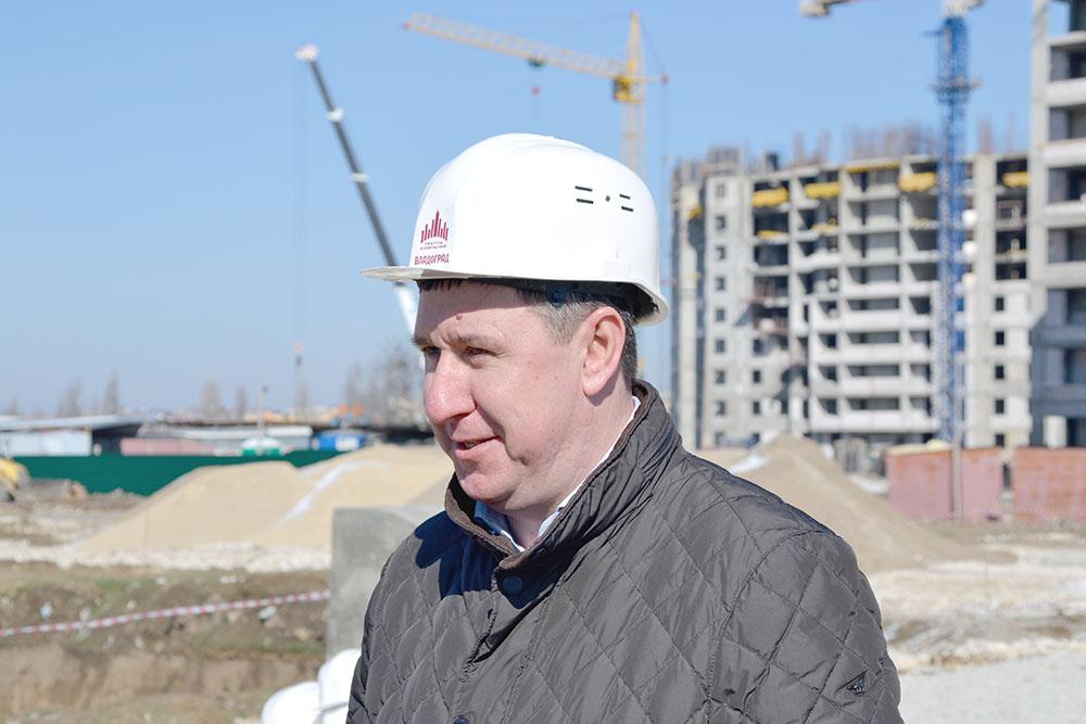 Александр Турлаев, директор компании «Монолит-бетон»