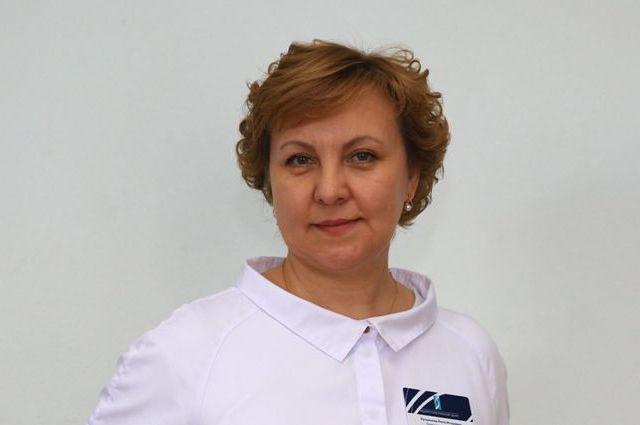 Заместитель директора по лабораторно-диагностической работе центра Рита Хусаинова