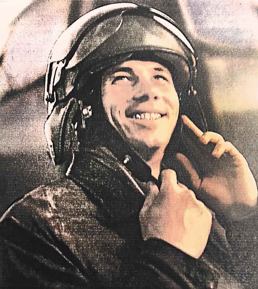 Это фото Гаврилова попало на обложку советского журнала.