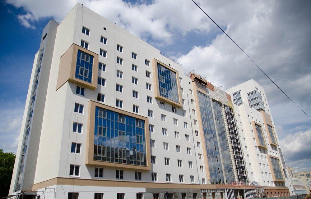 Новое общежитие ЮУрГУ