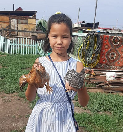 Семья Исаковых - начинающие фермеры.