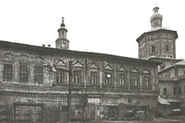 Дом Михляева в Казани, где останавливался Пётр Первый.