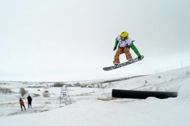 В Свердловской области есть где развернуться горнолыжникам.
