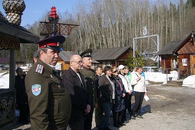 Церемония открытия выставки.
